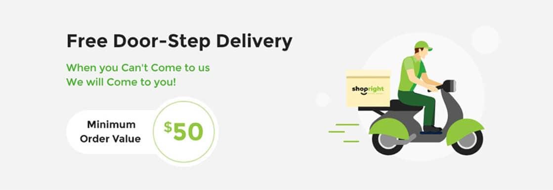 Free Door-Step Delivery